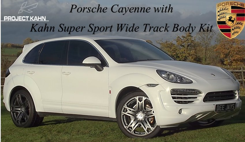 PORSCHE CAYENNE 3.0D V6 KAHN Supersport-Wide Track