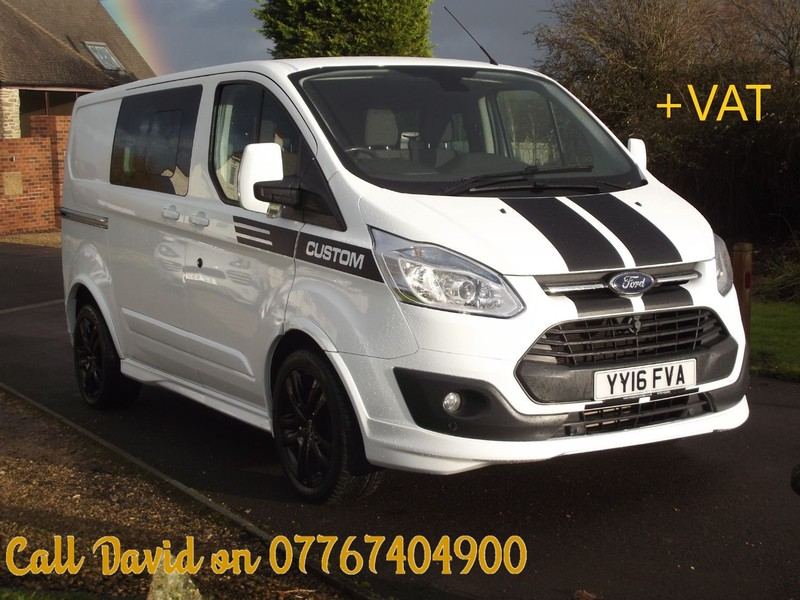 FORD TRANSIT CUSTOM 290 LIMITED COMBI VAN